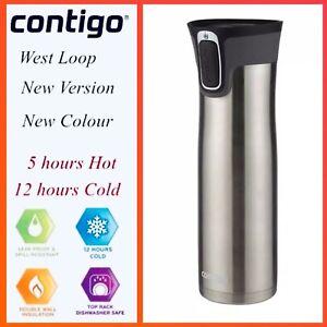 Contigo West Loop Autoseal Insulated Travel Mug Bottle 591ml Stainless Steel