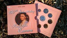 Thema set Nederland 2008 BU 150ste GEBOORTEDAG EMMA PROOF BLISTER Zilver 16,4gr