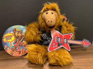 Vintage 1988 Alien Productions Burger King MELMAC ROCK ALF Plush Puppet & Record