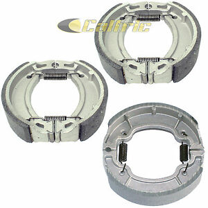 Front & Rear Brake Shoes for Yamaha Grizzly 80 YFM80G YFM80GH 2005 2006 07 2008