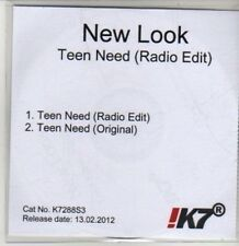 (CS798) New Look, Teen Need - 2012 DJ CD