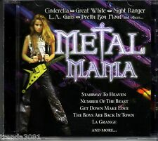 Metal Mania CD Classic 80s Rock PRETTY BOY FLOYD GREAT WHITE CINDERELLA LA GUNS