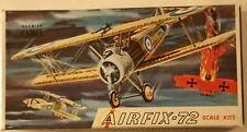 U.K. Sopwith Camel 2F.1 WWI 1/72 Airplane Model Kit