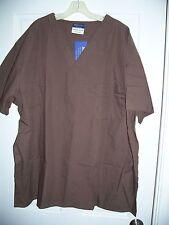 B.I.C.Medical Uniforms Size 3Xl Brown Nursing Scrub 2 Piece Outfit Unisex New