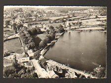 LORMES (58) VILLAS à l'ETANG DU GOULOT , vue aérienne LAPIE , en 1964