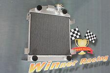 56mm aluminum alloy radiator Ford Lowboy chopped w/flathead V8 engine 1932-1939