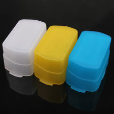 3 colores Flash Bounce Diffuser for for NIKON SB600 SB800 YN460 II YN-468 YN-465