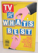 TV GUIDE OCT 6-12 1990 FALL PREVIEW WHAT'S BEST AND WHAT'S WAITING IN THE WINGS