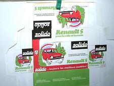 REPLIQUE  BOITE RENAULT R 5 SOLIDO 1972 boite promotionnelle réseau renault 1972