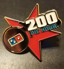 Domino's Pizza Piece Of The Pie Rewards enamel Hat Pin