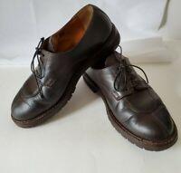 MADE IN FRANCE Men's Shoes MEPHISTO Split Toe Oxford Sz 10 Brown Leather Vibram