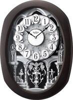 (New!) ENCORE ESPRESSO Magic Musical Motion Clock Rhythm Clocks 4MH896WU06