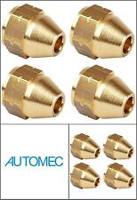 AUTOMEC Brake Pipe Brass Union Fittings Female 10mm x 1mm for 3/16 Pipe (4)