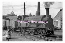 bb0983 - LMS Railway Engine 3323 at Crewe Works in 1948 - photograph