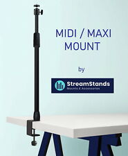 StreamStands MAXI MOUNT - Multi Use Desk Mounting System (Elgato Alternative)