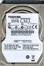 Toshiba MK5076GSX HDD2J93 C SL01 S 500GB CHINA