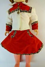Cowgirl - Western Outfit for 20 inch Doll, Cowgirl Blouse, Skirt + underpants