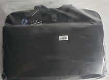 "HP 17.3"" Professional Slim Top Load Laptop Bag / Briefcase, Black, H4J91AA"