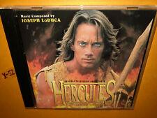 HERCULES th LEGENDARY journeys CD soundtrack JOSEPH LODUCA kevin sorbo sam raimi