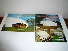 CONSTRUCTION OF BINISHELL REINFORCED CONCRETE DOMES WITH BROCHURE DATED 1978