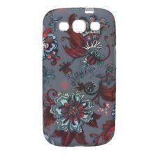 Oilily Caja Del Teléfono Móvil Sea of Flowers Samsung Galaxy SIII Case Rock
