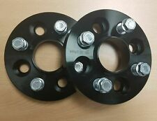 BLACK To Fit VW Vento NOT VR6 4x100 20mm Hubcentric Wheel spacers 1 Pair