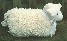 "Loopy Toy Lamb 15"" x 15"" Chunky Wool Knitting Pattern"
