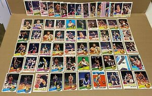 Lot of 66 Topps Basketball Star Cards from the 1970's~Maravich, Chamberlain, etc