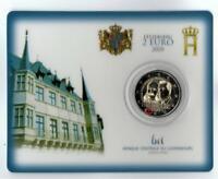"""Coincard 2 Euro Luxemburg 2020""""200.Geburtstag von Prinz Henri""""MZZ Brücke#Sofort"""