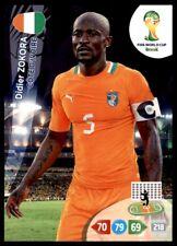 Panini Brazil 2014 Adrenalyn XL Didier Zokora Ivory Coast Base card