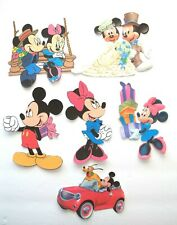 3D U Mickey Minnie Dora Teletubbies Fireman Sam Card Scrapbook Embellishment