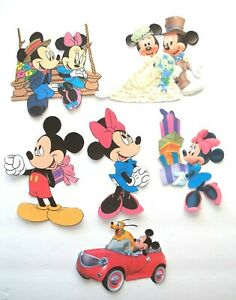 3D U Mickey Minnie Dora Teletubbies Fireman Sam Card Scrapbook Embellishment