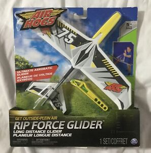 Air Hogs ~ Rip Force Glider (color yellow and black) By SPINMASTER NEW (SEALED)!