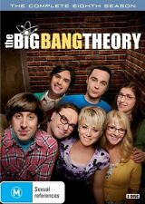 BIG BANG THEORY Complete Eighth Season 8 DVD NEW Region 4