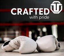 White Boxing Gloves Ultimate Fitness Gear 18oz Training Gloves