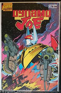 Dynamo Joe #3 VF- 1st Print First Comics