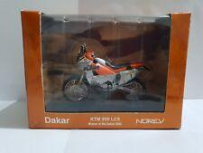 Modellino moto norev Dakar KTM 950 LC8 1:24