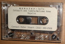 Monster - rare demo cassette - Sulia, Catapult and Tumble /Welcome home Haywire