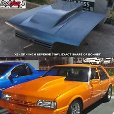 FORD FALCON XE - XF 4 INCH REVERSE COWL SMOOTH  EXACT SHAPE OF BONNET