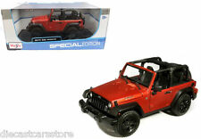 MAISTO 2014 JEEP WRANGLER WILLYS COPPER 1/18 DIECAST MODEL CAR 31610