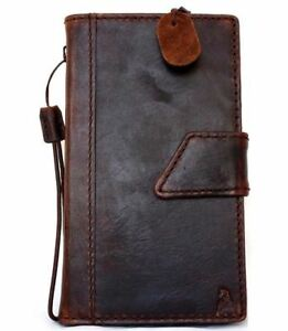 Genuine Leather Case fit Samsung Galaxy Note 3 book wallet handmade cover slim s