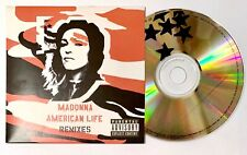MADONNA - AMERICAN LIFE - The Remixes Official UK PROMO CDR. Unplayed/Mint