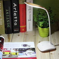 USB Rechargeable Touch Sensor Cordless LED Light Desk Table Read Lamp-White YK