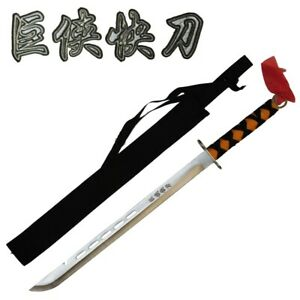 Giant Man Sword Chrome Ninja  Sword With Sheath Katana