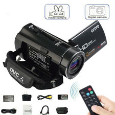 "V7 HD 1080P 16X ZOOM 24MP 3.0"" LCD Digital Video Camera DV Camcorder Recorder BR"