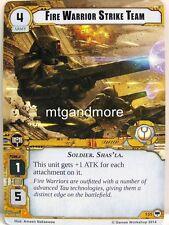 Warhammer 40000 Conquest LCG - Fire Warrior Strike Team  #155 - Base Set