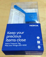 NOKIA WS2 NFC BLUETOOTH TREASURE TAGS GENUINE BLUE IPHONE 4 / 5 / 6 & ANDROID