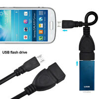Micro USB OTG Cable Adapter Cord Data Connector Line For Android Cell Phone Acc