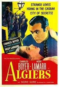 Algiers 1938 Charles Boyer, Hedy Lamarr Drama Romance DVD