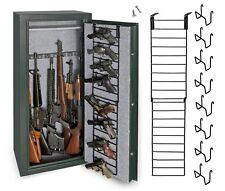 Handgun Door Rack Organizer for Storage 8 Pistol, Gun Safe Steel Firearm Hanger